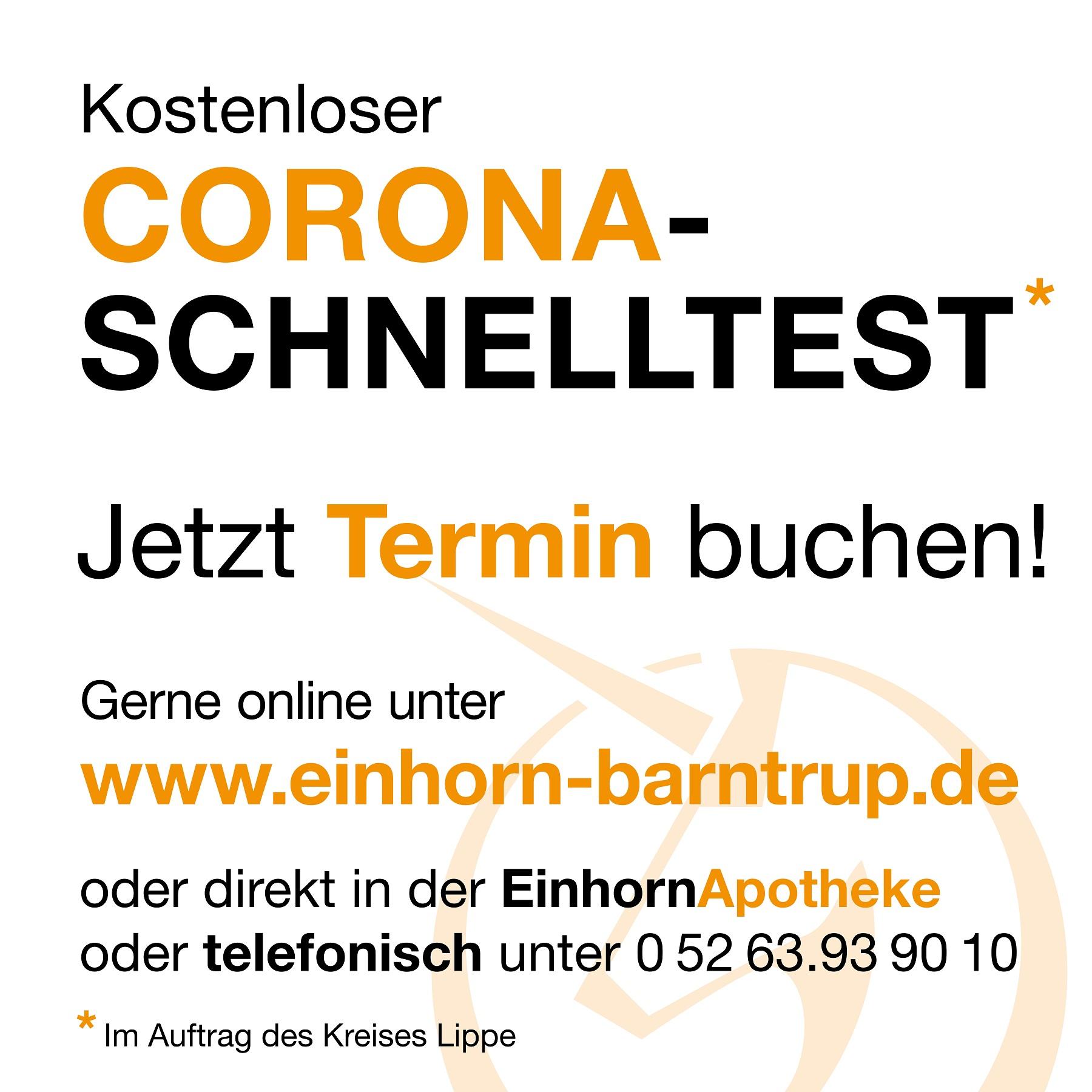 Kostenloser Corona-Schnelltest: Hier geht's zu Ihrem Wunschtermin …